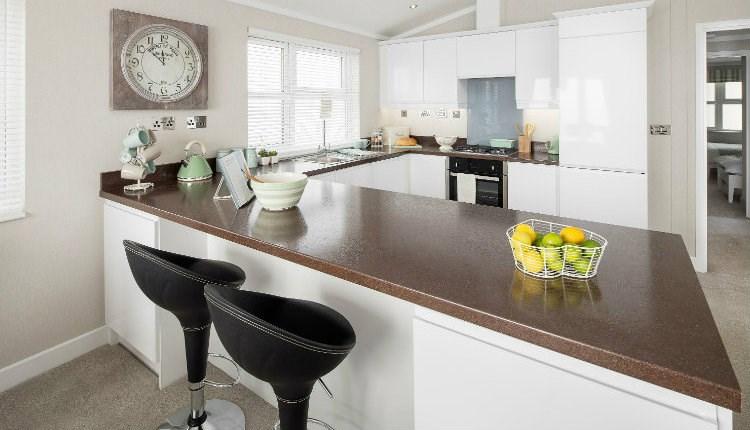 Isle Of Wight Accommodation Self Catering Kitchen St Helens Coastal Resort
