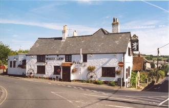 Outside view of The White Lion, Niton, Eat & Drink