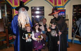Witches & Wizards Day Out at Blackgang Chine