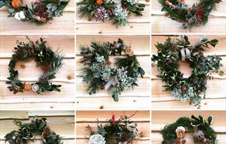 Beautiful Natural Christmas Wreaths