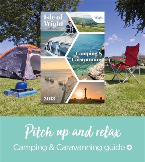 The 2018 Isle of Wight Camping and Caravanning Guide, great campsites and touring parks across the Isle of Wight