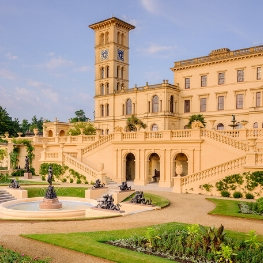 Visit Osborne House and gardens