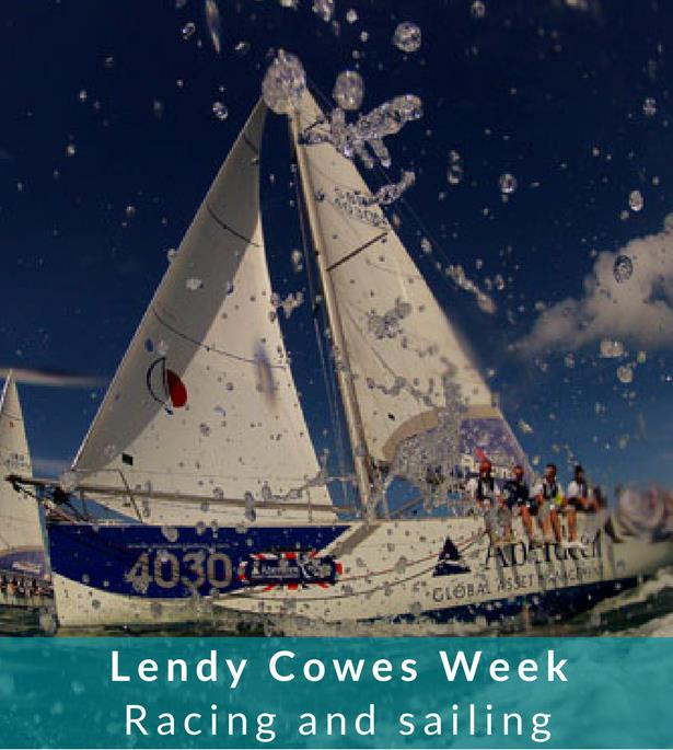 Thumbnail for Lendy Cowes Week on the water