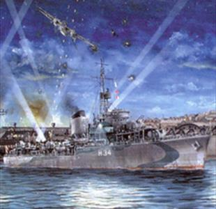Story of the hero Polish warship - 75 years since the bombing of Cowes