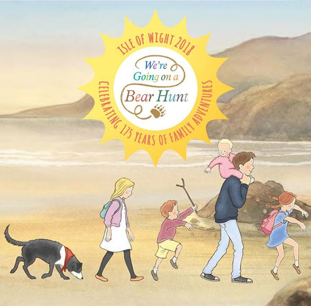 Experience your own 'We're Going on a Bear Hunt' adventure in 2018 on an Official Bear Hunt Weekend with The National Trust on the Isle of Wight.