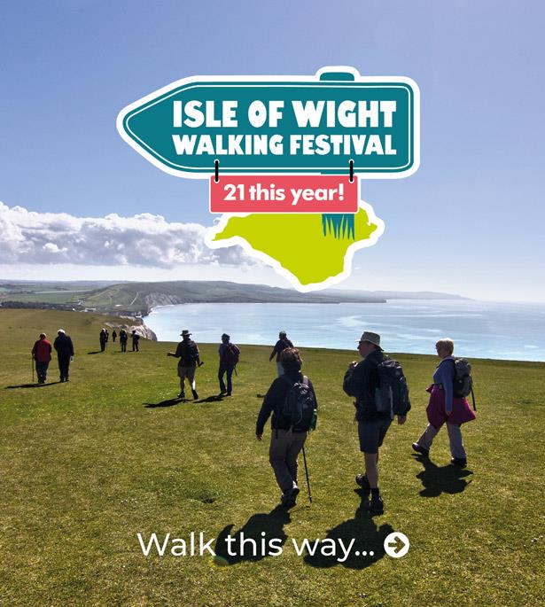 Thumbnail for Isle of Wight Walking Festival 2019