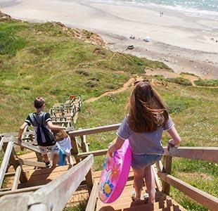 Family friendly walks on the Isle of Wight