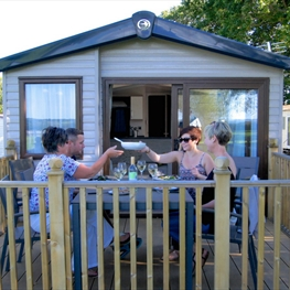 The Isle of Wight has a great variety of superb caravan and chalet parks, many of which are located in some of our most spectacular landscapes!