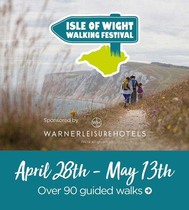 Thumbnail for Isle of Wight Walking Festival 2018