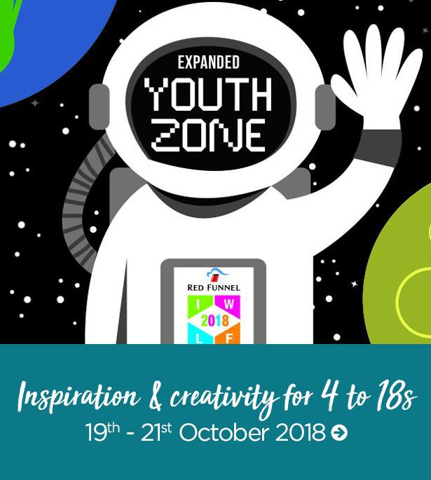 Thumbnail for Isle of Wight Literary Festival Youth Zone 2018