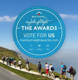 The Isle of Wight Walking Festival needs your vote!