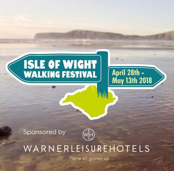 Isle of Wight Walking Festival 2018 - Sponsored by Warner Leisure Hotels