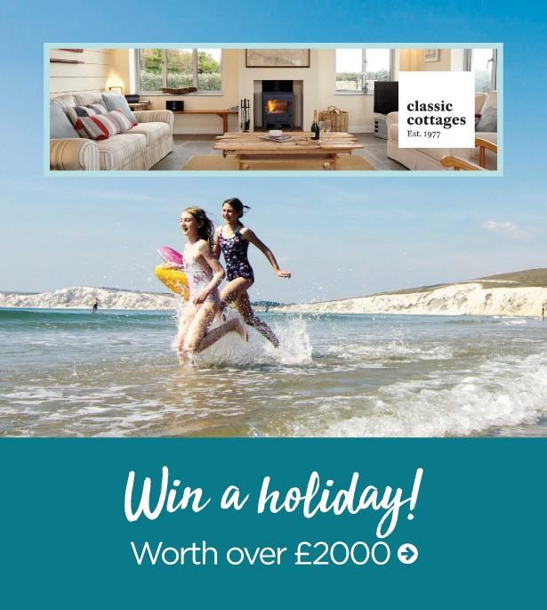 win a holiday on the Isle of Wight