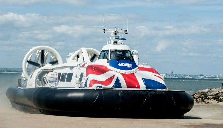 Hovercraft for the Hover Experience from Hovertravel, Things to Do, Isle of Wight