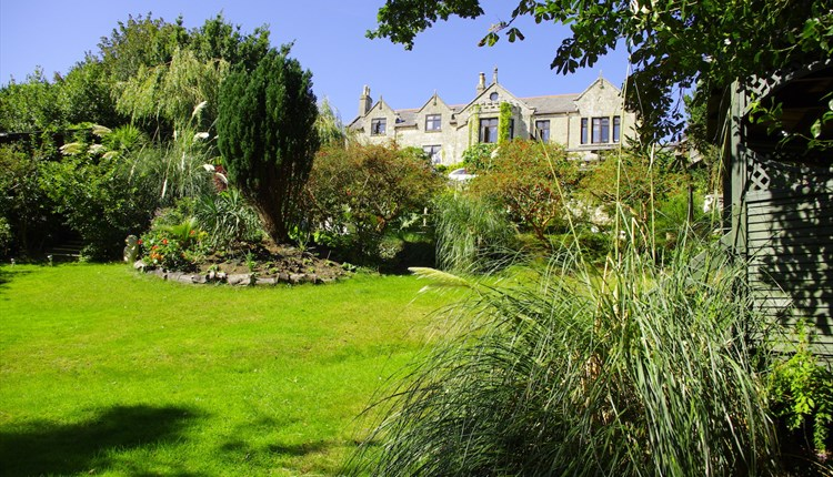 Outside view of The Grange from the grounds, What's On, Workshops, B&B, Shanklin, Isle of Wight