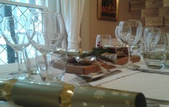 Christmas Parties at Keats Cottage in December