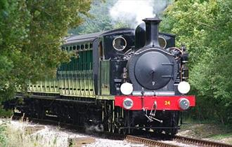 Island Motor Show at Isle of Wight Steam Railway