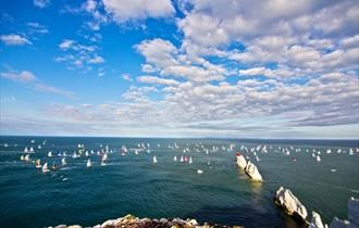 #5 - Grab a clifftop seat for the world's largest yacht race