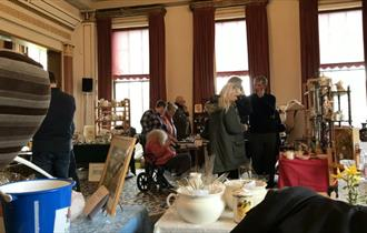 Isle of Wight, Events, Antiques Fair, Northwood House, COWES