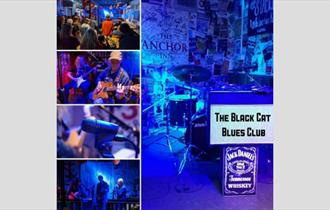 Isle of Wight, Things to Do, Live Music, COWES, The Anchor, Black Cat Blues Club