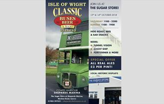 Isle of Wight, Classic Beer and Buses, Cowes,