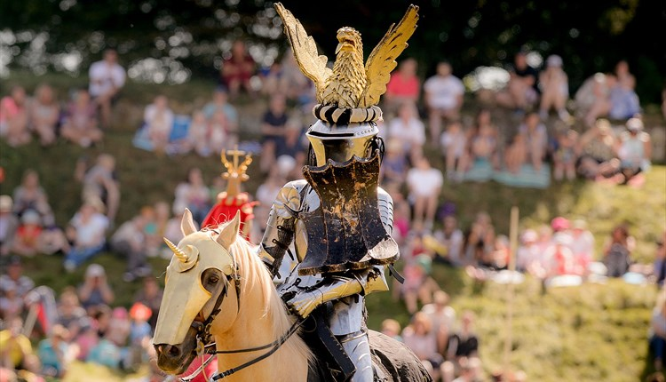 Joust event at Carisbrooke Castle - What's On, Isle of Wight