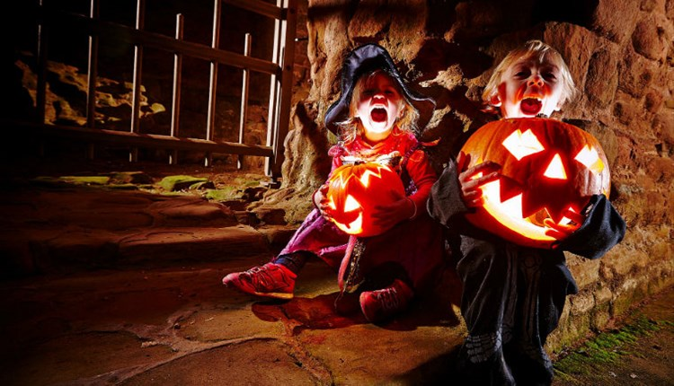 Isle of Wight, Things to Do, Halloween, Carisbrooke Castle, NEWPORT