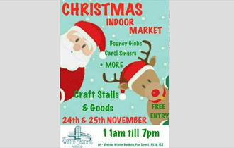 Isle of Wight, Christmas, Things to Do, Market, Ventnor Winter Gardens