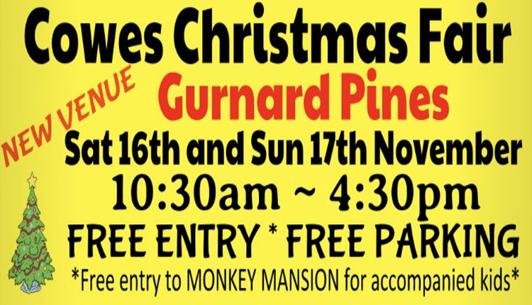 Isle of Wight, Things to Do, Christmas Fair, Cowes, Gurnard Pines