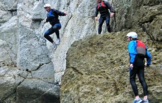 #7 - Take a leap of faith from the rocks on a coasteering adventure