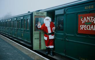 Santa Specials at Isle of Wight Steam Railway