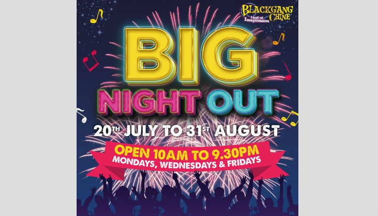 Isle of Wight, Things to Do, Blackgang Chine, Big Night Out