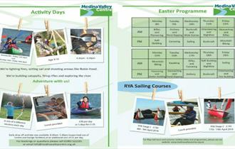 Isle of Wight, Activity Days, Easter Holidays, Childrens Activities, Timetable, Medina Valley Centre