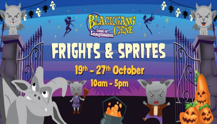Isle of Wight, Blackgang Chine, Things to Do, Frights and Sprites