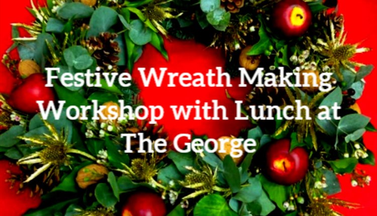 Isle of Wight, Things to Do, Christmas Wreath Making, The George Hotel, YARMOUTH, Workshop with lunch