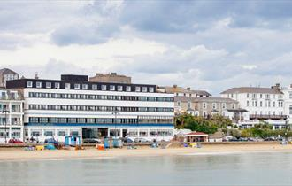 Isle of Wight, Accommodation, Hotels, Sandown, Trouville, Beach Front