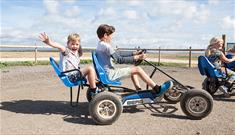 Mini Go Karts at Tapnell Farm Park, Isle of Wight
