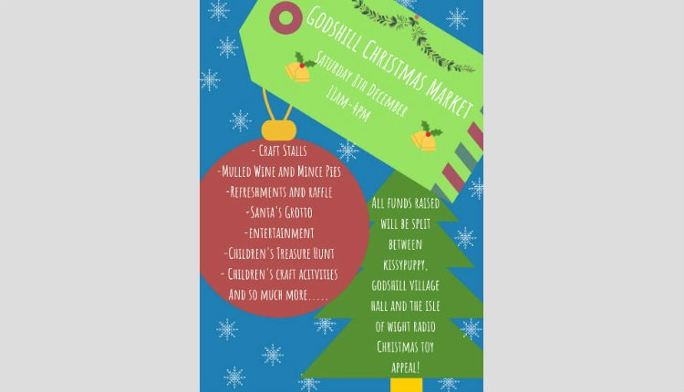 Christmas market at Godshill - What's On, Isle of Wight