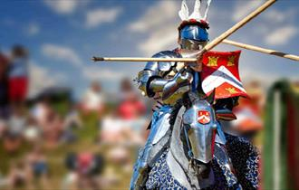 Isle of Wight, Family Fun, Jousting, things to do, Carisbrooke Castle,