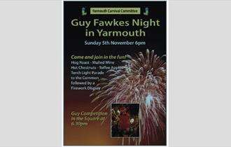 Guy Fawkes Night in Yarmouth