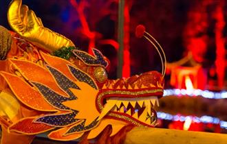 Dragon at Electric Woods 'Spirit of the Orient', Robin Hill - What's On, Isle of Wight