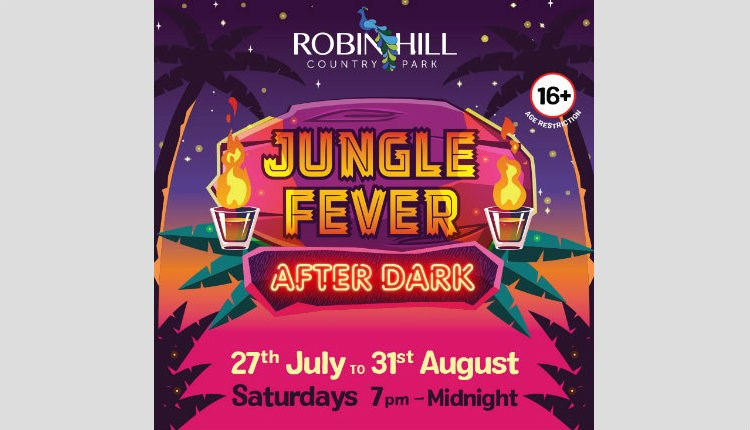 Isle of Wight, things to do, Robin Hill Country Park, NEWPORT, Jungle Fever After Dark
