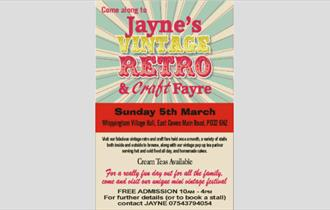 Jaynes Vintage Retro & Craft Fayre