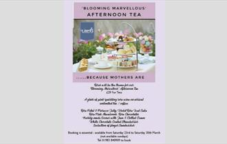 Isle of Wight, Food and Drink, Mothers Day afternoon tea, Woods Kitchen, GODSHILL