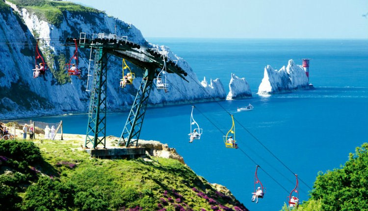 Isle of Wight, Things to Do, Easter Bank Holiday, The Needles Landmark Attraction