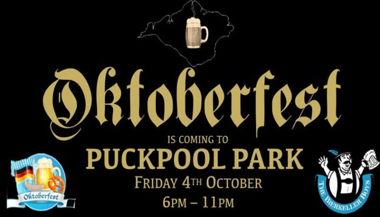 Isle of Wight, Things to Do, Oktoberfest, PUCKPOOL PARK.