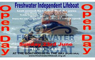 isle of Wight, things to do, Freshwater Bay Independent Life Boat, Open Day