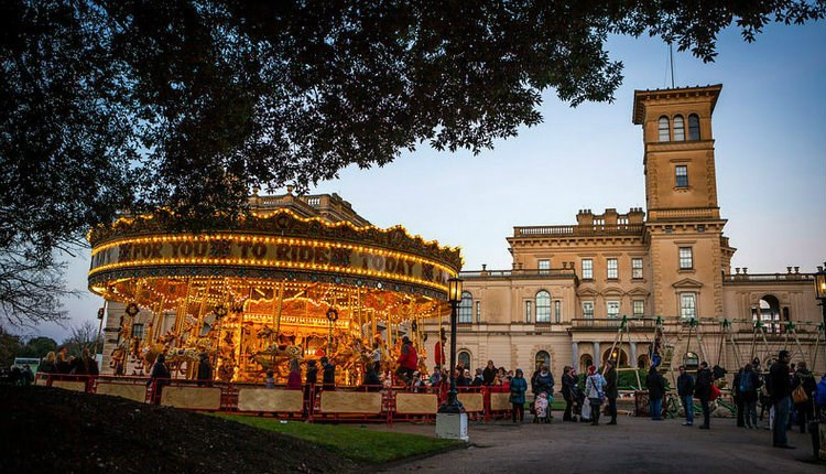 Isle of Wight, Christmas, Things to Do, Osborne House, East Cowes