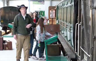Heritage Open Days at Isle of Wight Steam Railway