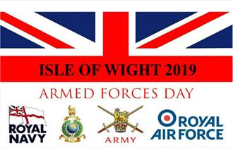 Isle of Wight, Armed Forces Day, Parade, Flag